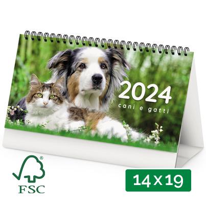 Calendario da tavolo 2019 personalizzato cani e gatti - Calendari da tavolo con foto ...