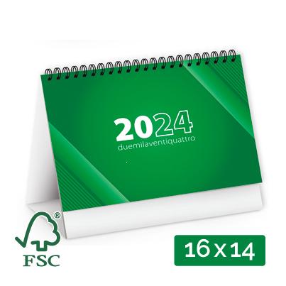 Calendario Da Tavolo 2019 Bicolore Personalizzato