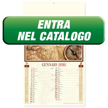 Calendario illustrato antico